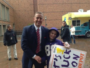 Kirk Herbstreit and Spencer
